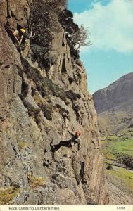US2353 UK Rock Climbing Llanberis Pass alpinisme climber  sport