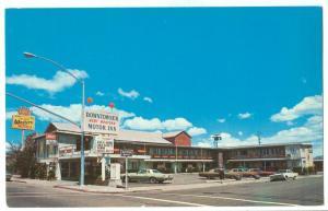 Downtowner Motor Inn, Carson City, Nevada, 1970s Postcard