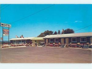 Pre-1980 MOTEL SCENE Fredericton New Brunswick NB B6905