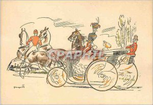 Postcard Modern Hitch Horses