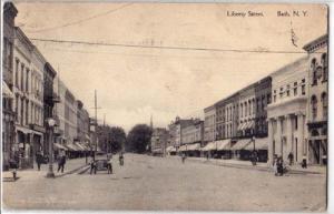 Liberty Street, Bath NY
