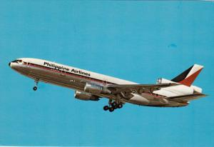 Philippine Airlines McDonnell Dougalas Dc-10-30 Jet airplane , 60-80s