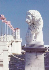 The Bridge Of Lions Spans The Matanzas River Saint Augustine Florida