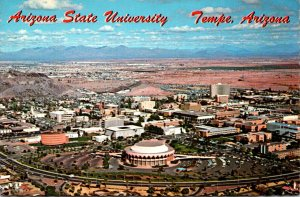 Arizona Tempe Aerial View Arizona State University