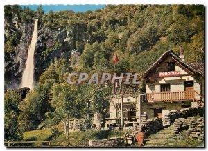 Postcard Modern Foroglio Valle Bavona