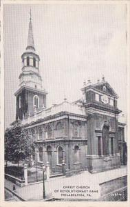 Christ Church Of Revolutionary Church Fame Philadelphia Pennsylvania