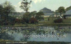 Botanic Gardens Glasgow Scotland, Escocia Unused