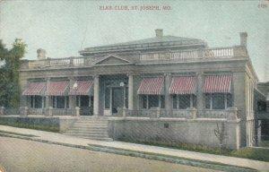 ST. JOSEPH , Missouri , 1900-10s ; Elks Club