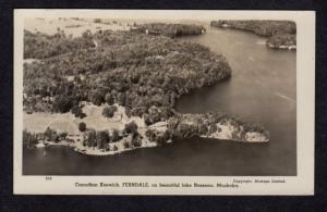ON Ontario Keswick Ferndale Lake Rosseau Muskoka Carte Postale Postcard RP RPPC