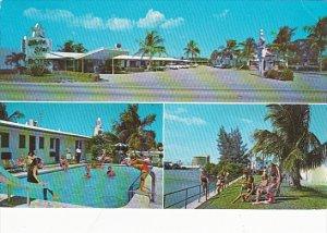 White Star Motel Pool Lauderdale Florida 1975