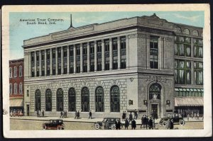 41620) Indiana SOUTH BEND American Trust Company - pm1925 - White Border