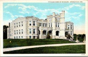 Springfield Missouri~Pythian Home of Missouri~White Stone Building~1920s