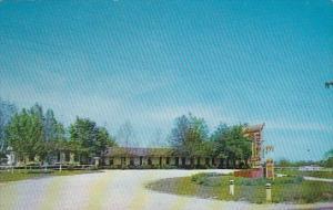 Holiday Motel North Harrison Arkansas 1959