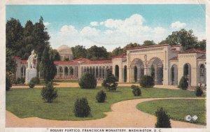 WASHINGTON D.C., PU-1928; Rosary Portico, Franciscan Monastery