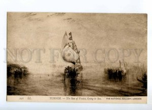 234564 Ship SUN OF VENICE to Sea by TURNER Vintage PC