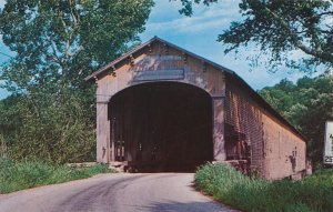 Dunlapsville IN, Indiana - First Covered Bridge built by Archibald Kennedy