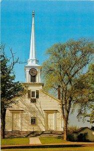 Postcard Church At Hampton Falls, NH