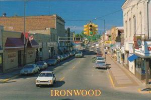 Main Street Ironwood Michigan