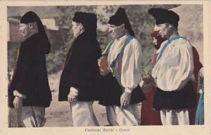 Costume Sardi, Orosei, Sardegna, Italy, 10-20s