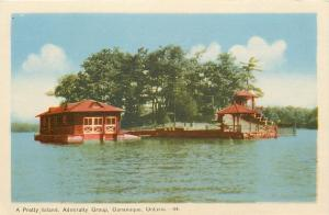 Gananoque Ontario~A Pretty Island~Admiralty Group~Boat House~Gazebo~1940