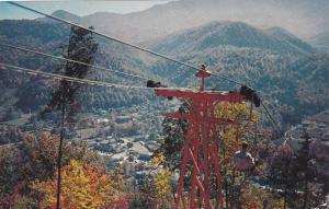 Skylift, Crockett Mountain, Mt. Le Conte, Autumn Leaves, Great Smoky Mtn Nati...