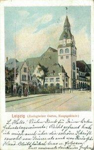 Germany Leipzig Zoologischer Garten Hauptgebäude 03.26