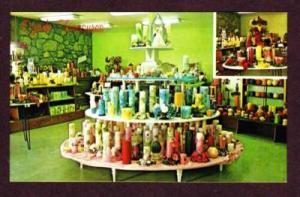MO Ozark Treasures Shop Store OZARK MISSOURI POSTCARD