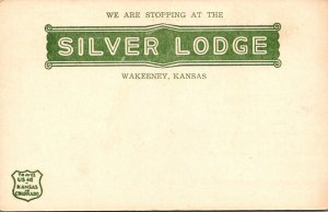Kansas Wakeeney The Silver Lodge