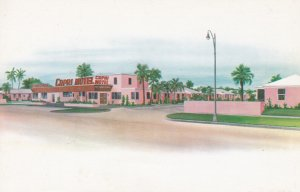 JACKSONVILLE, Florida, 1950-1960s ; Motel Capri Restaurant