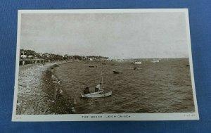 Vintage Tucks Postcard The Beach  Leigh-On-Sea Essex G1C