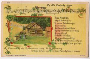 Music - My Old Kentucky Home