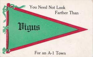 Missouri Vigus 1913 Pennant Series