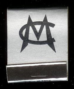 MASSILLON CLUB Ohio 1940's Full Unstruck Matchbook