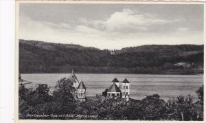 RP; Der Laacher See mit Abrei Maria Laach, near Andernach, Mayan-Koblenz, Rhi...