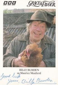 Billy Burden Are You Being Served Sequel BBC Hand Signed Cast Card