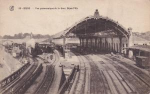 DIJON, Cote D´Or, France, 1900-1910´s; Vue Panoramique De La Gare # 2