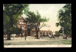 TQ3108 - Essex - An early view of the Kings Oak Hotel, at High Beech - postcard
