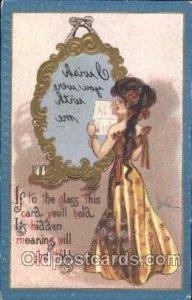 Artist Signed Dwig, Dwiggens Series No. 30 1909 minor corner wear, postal use...