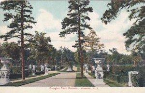 New Jersey Lakewood Georgian Court Grounds