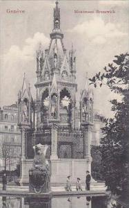 Switzerland Geneve Monument Brunswick