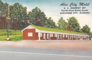 Alabama Alexander City Alex City Motel U S Highway 241 sk2837