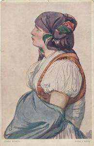 MORAVIA , Czech Republic , 00-10s ; Girl from Hana County in Slovak Costume #2