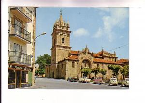 Cars Outside Church of San Sebastian, Reinosa, Spain