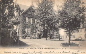 Cherry Street No 4 Public School Elizabeth New Jersey 1906 postcard
