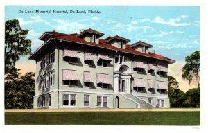 Florida  De Land Hotel  Memorial Hospital