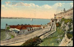 cuba, HAVANA HABANA, Way up to Morro Castle (1916)