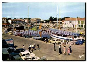 Postcard Modern I'Ile De Re Saint Martin Port