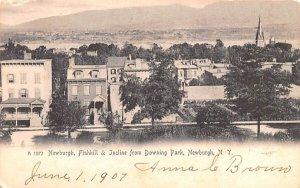 Newburgh, Fishkill & Incline from Downing Park in Newburgh, New York