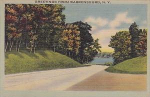 Greetings From Warrenburg New York