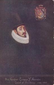Don Gaspar Zunega Y Acevedo Count Of Monterey 1595-1603
